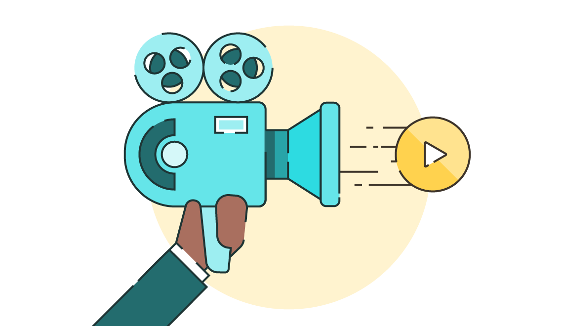 Video clipart movie producer. Embedding tool for powerpoint