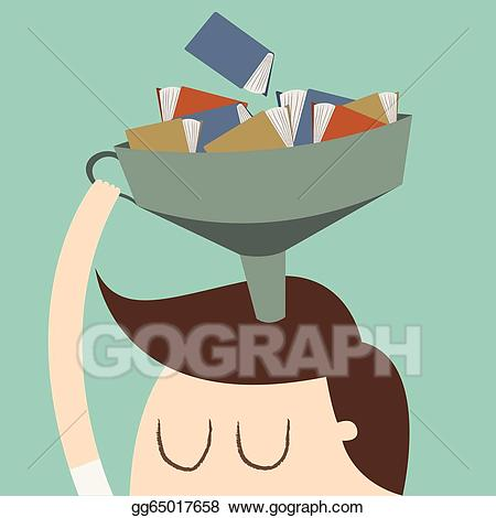 Knowledge clipart rationality. Vector stock illustration gg