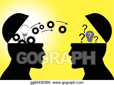 Knowledge clipart share knowledge. Vector illustration transfer eps