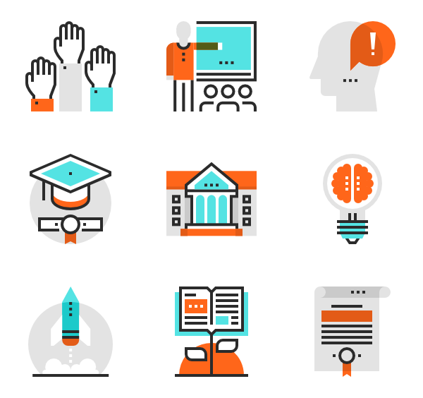 Knowledge clipart vector.  education and icon