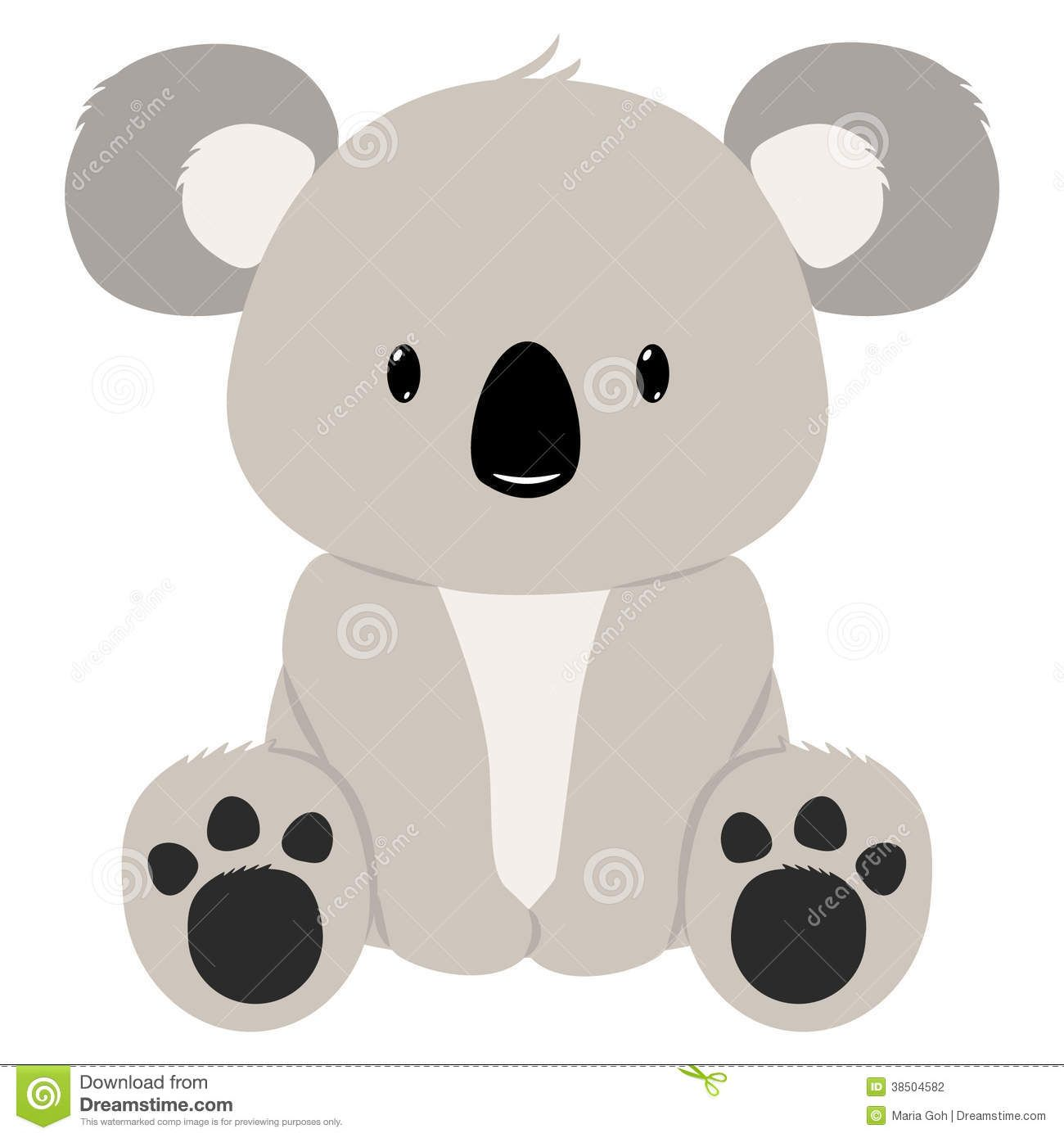 D pinterest . Koala clipart