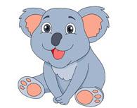 Koala clipart. Free clip art pictures