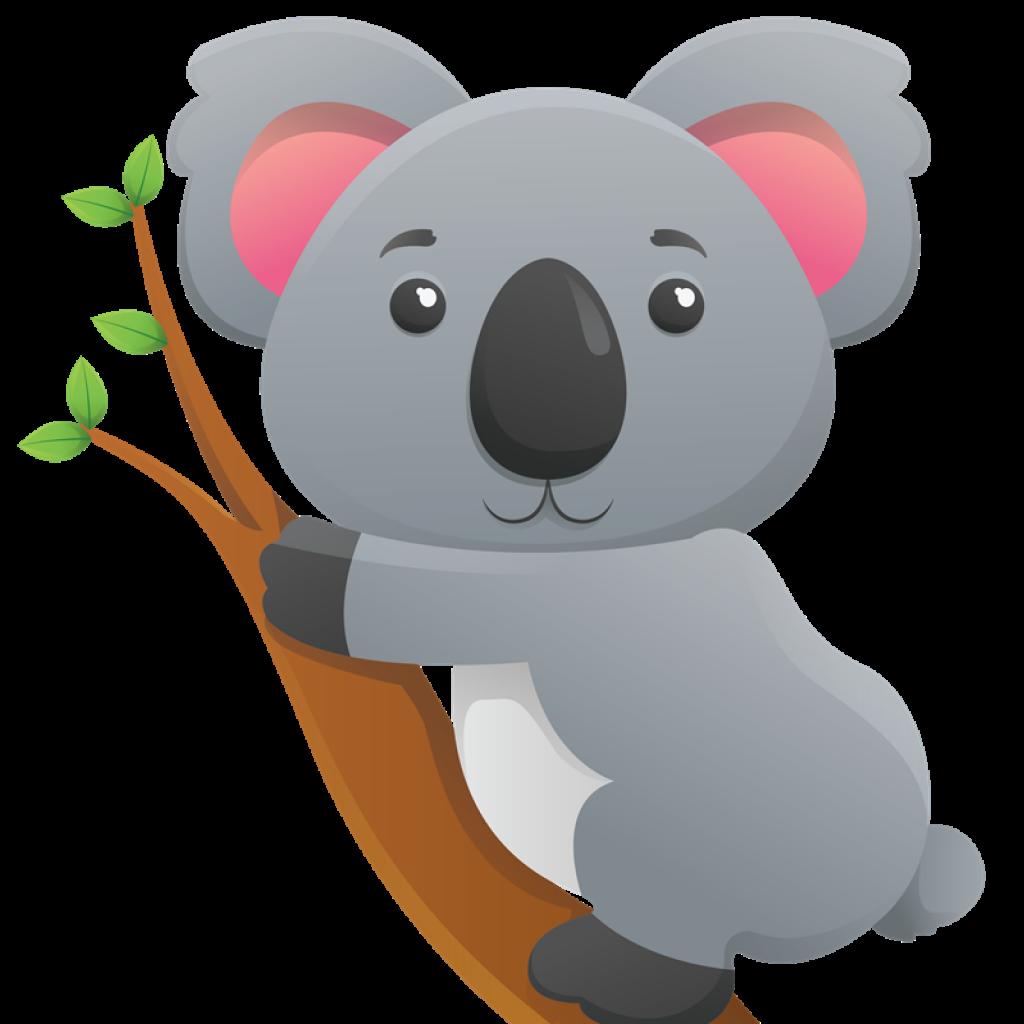 Star hatenylo com cute. Koala clipart