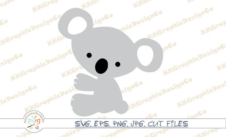 Svg bear clip art. Koala clipart animal safari