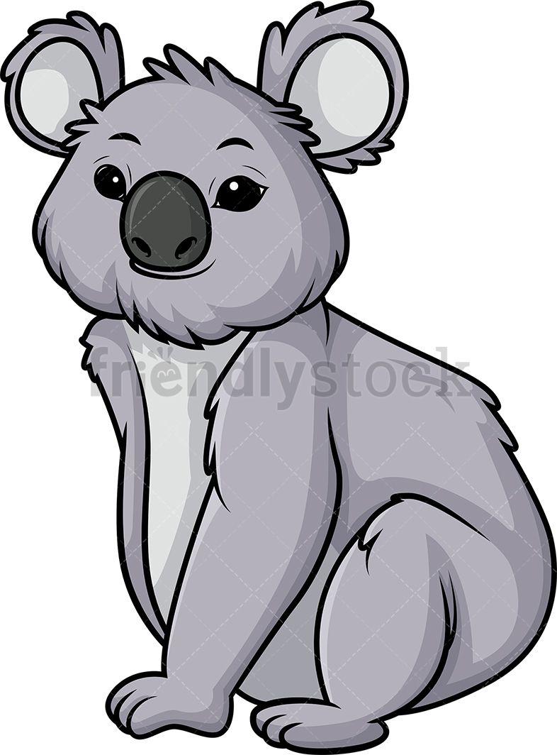 Bear animals cute cartoon. Koala clipart animal safari