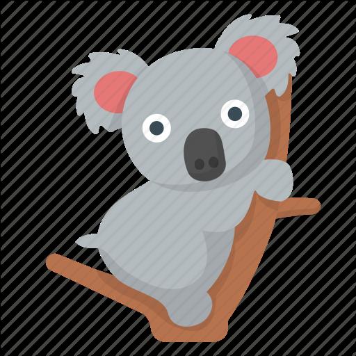 Koala clipart animal safari.  emoji by flaticons