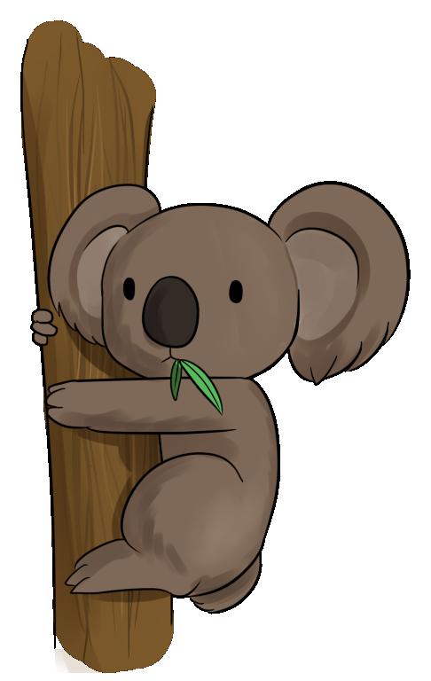 Australian animals clip art. Koala clipart aussie