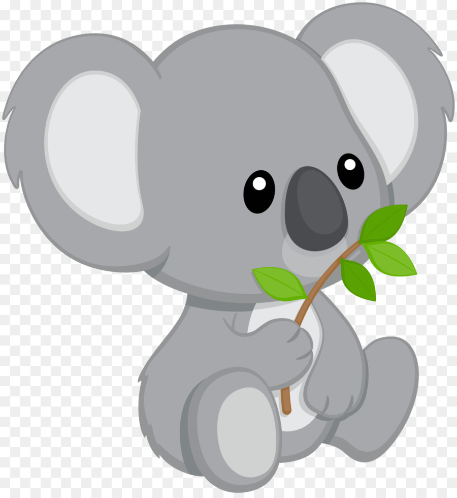 Koala clipart cartoon panda. Baby elephant bear transparent