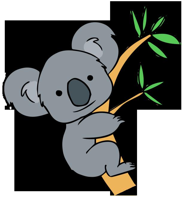 Koala Clipart Chibi Koala Chibi Transparent Free For Download On
