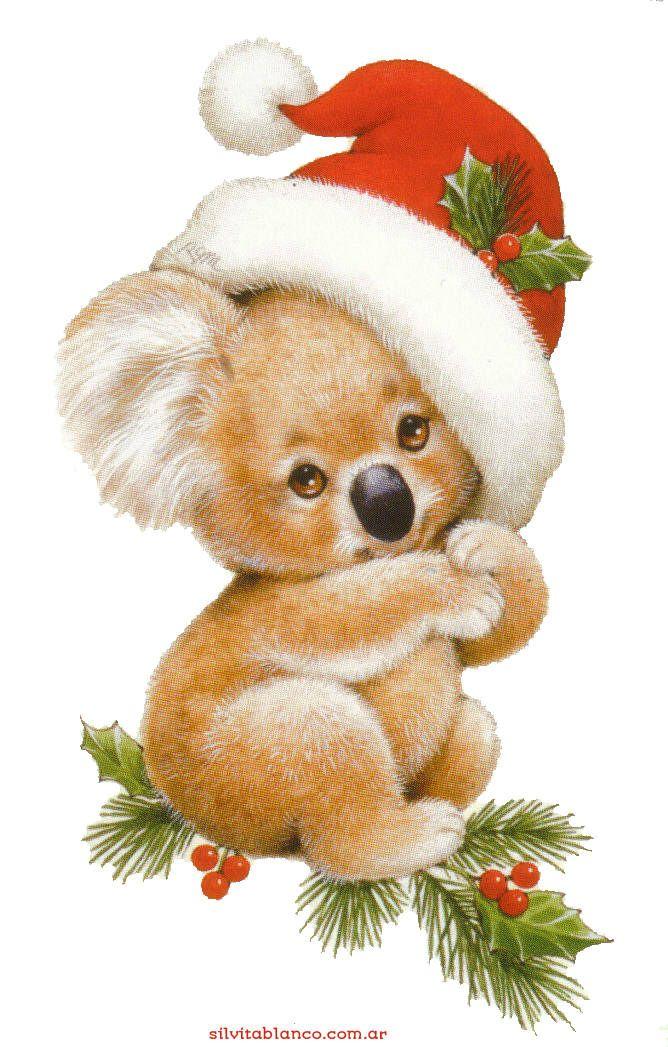 Koala clipart christmas. Bear clip art