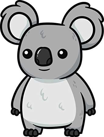Koala clipart easy. Amazon com adorable wild