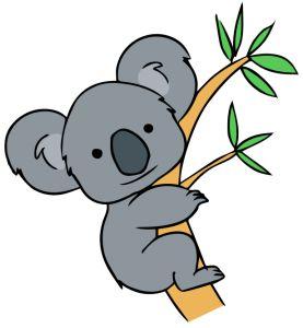 Free cliparts download clip. Koala clipart happy