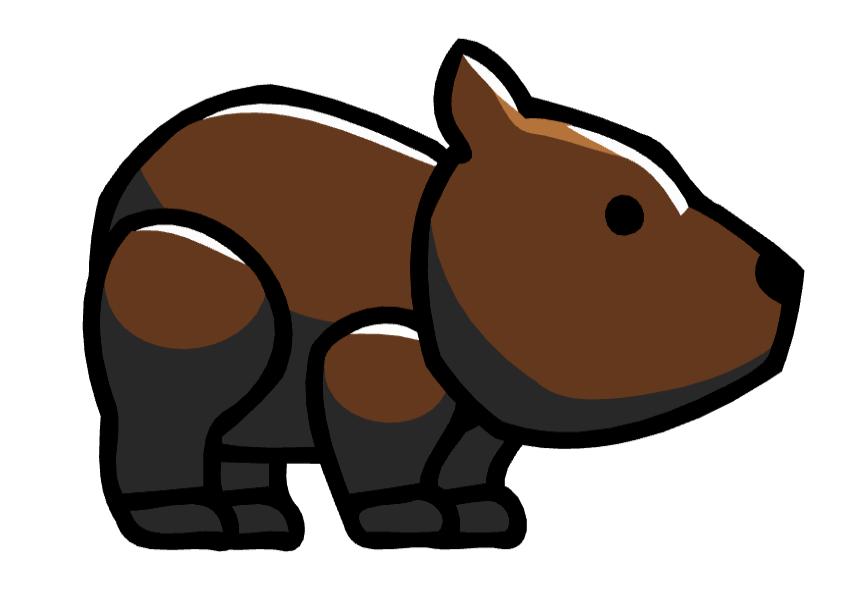 Koala clipart wombat. Image png scribblenauts wiki