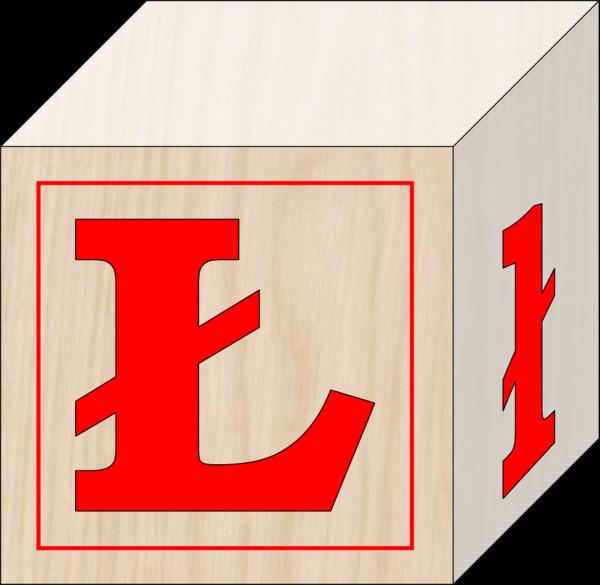 L clipart alphabet l. Blocks polish free images