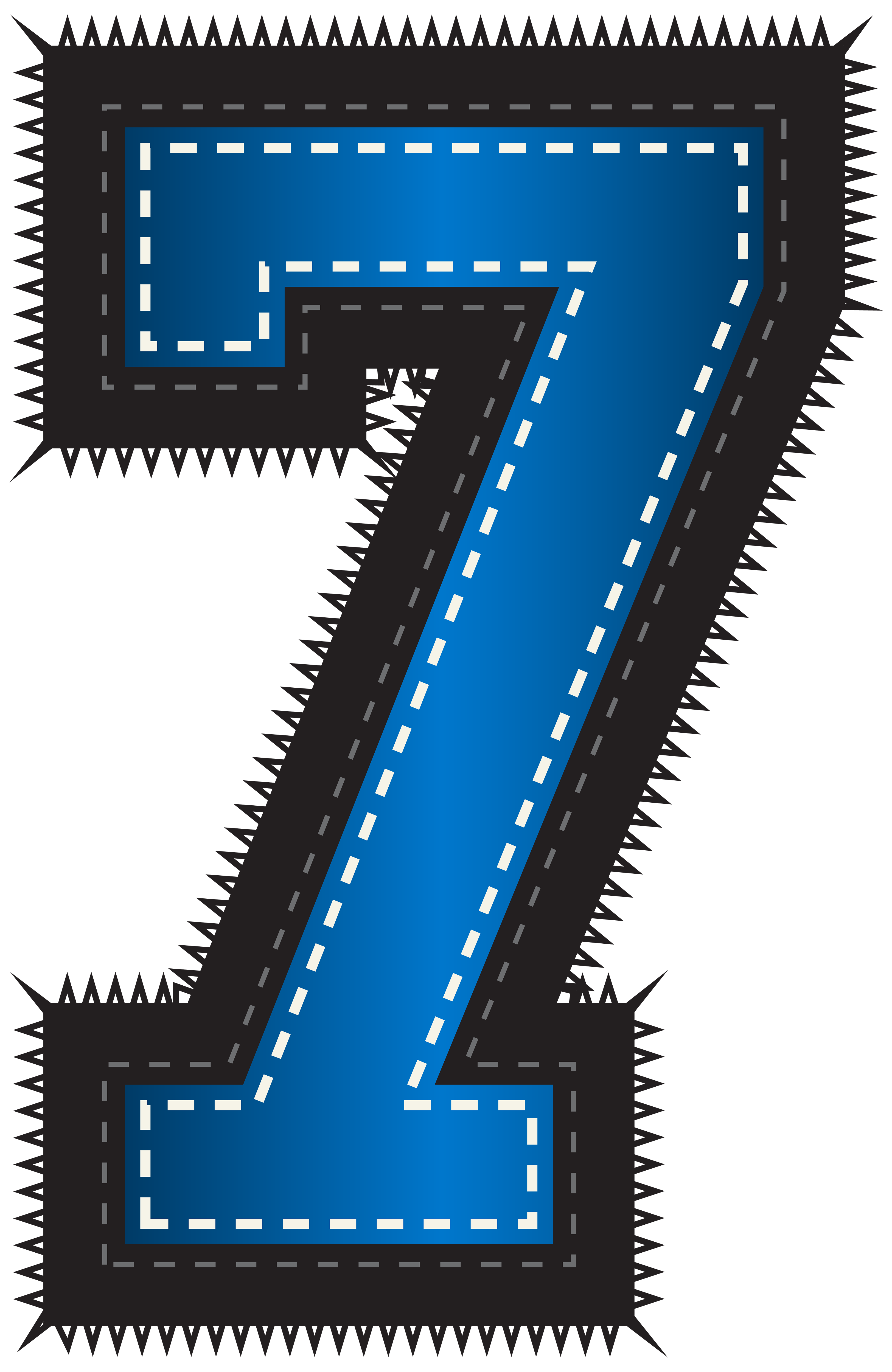 Blue sport style number. Photography clipart photo album