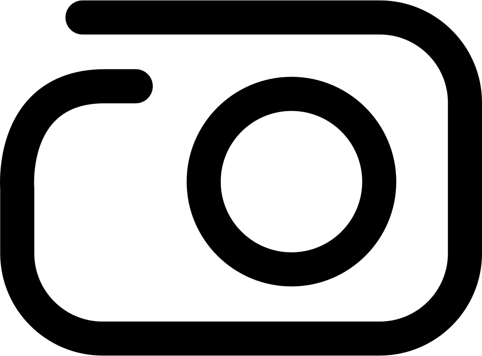 Camera svg png icon. L clipart different font
