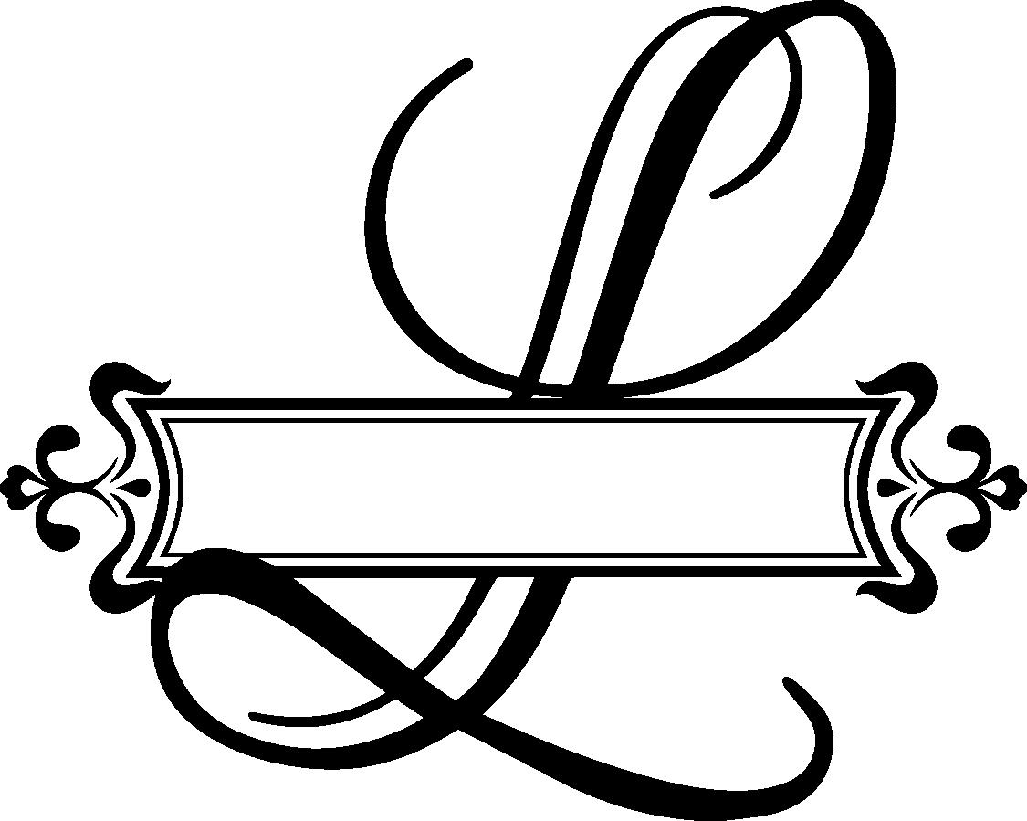 Letters Clipart Monogram  Letters Monogram Transparent