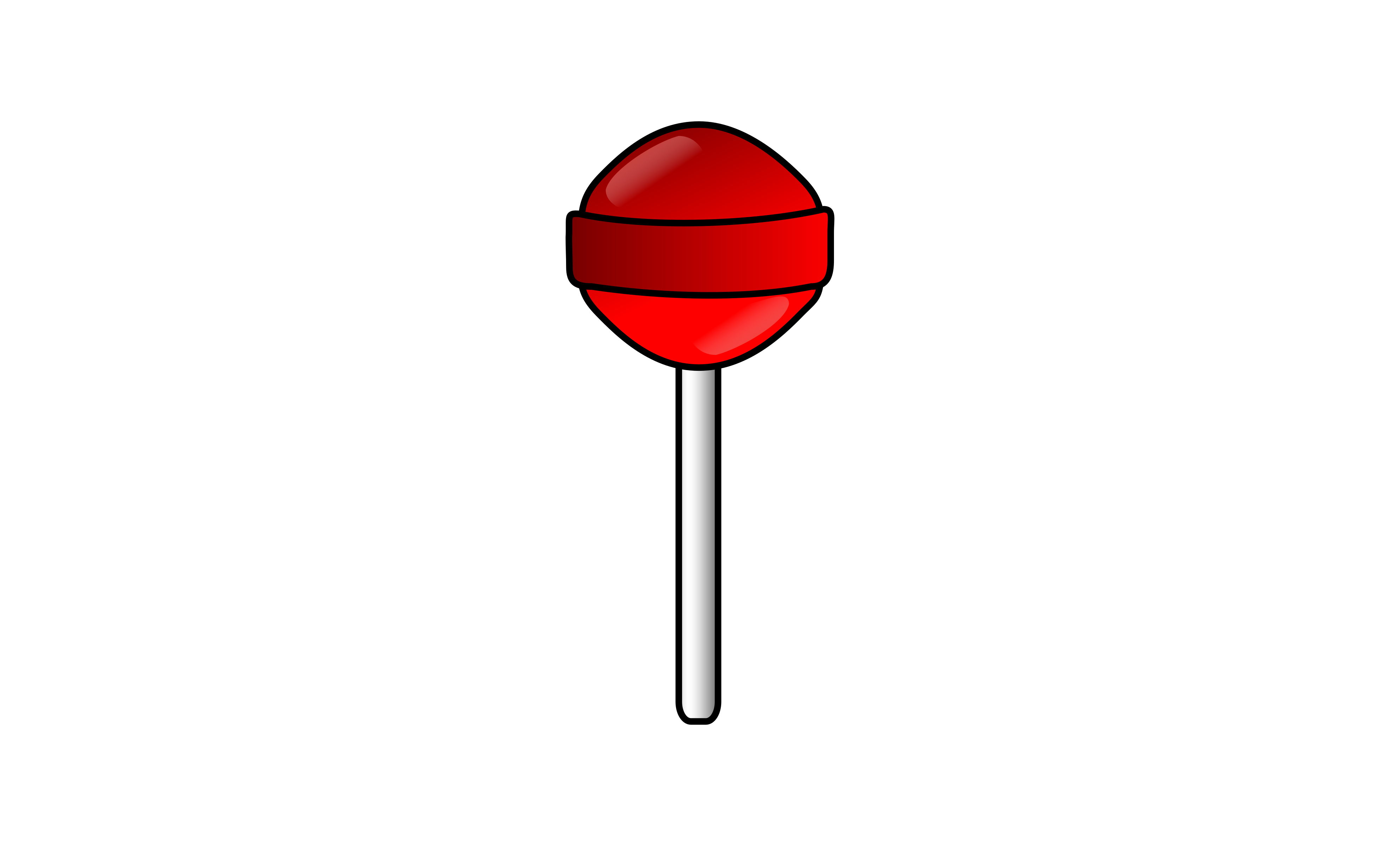 Red big image png. Lollipop clipart small