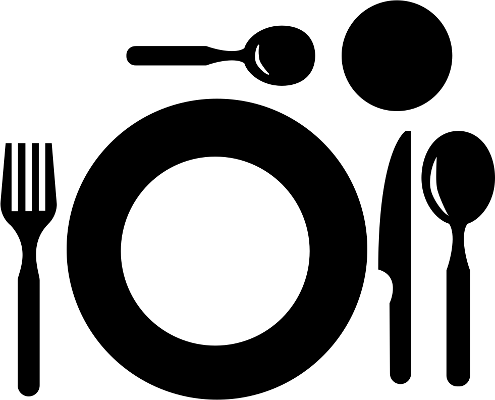 Restaurant plate svg png. L clipart top view