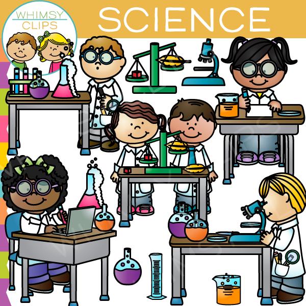 Science clip art images. Lab clipart