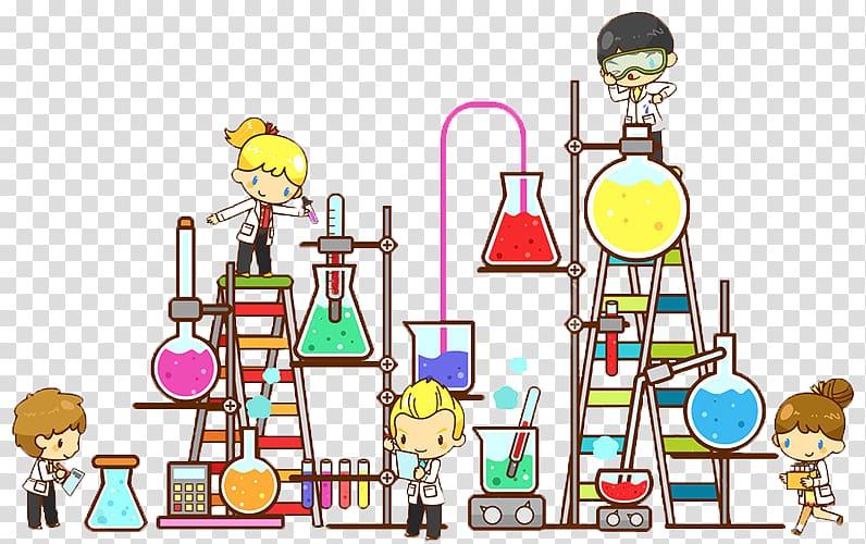 Lab clipart cartoon. Laboratory chemistry science transparent