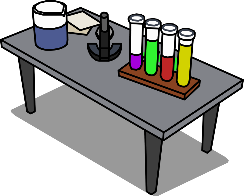 Lab clipart desk. Table clip art ourclipart