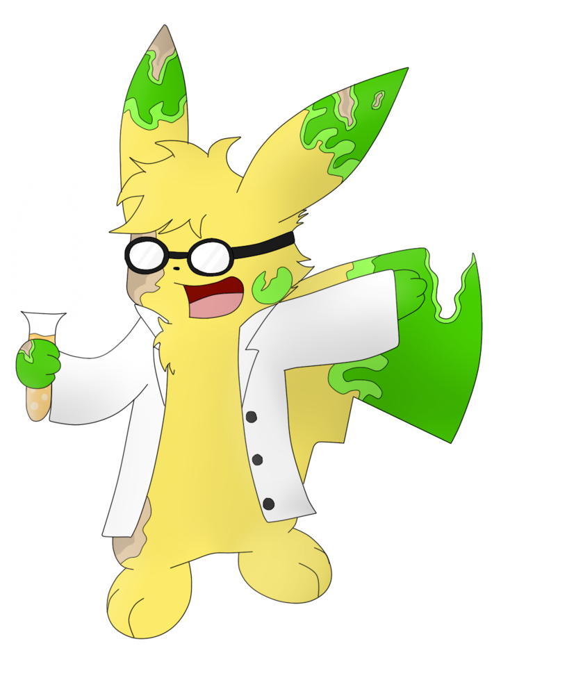 Jekyll the mad and. Scientist clipart explosion