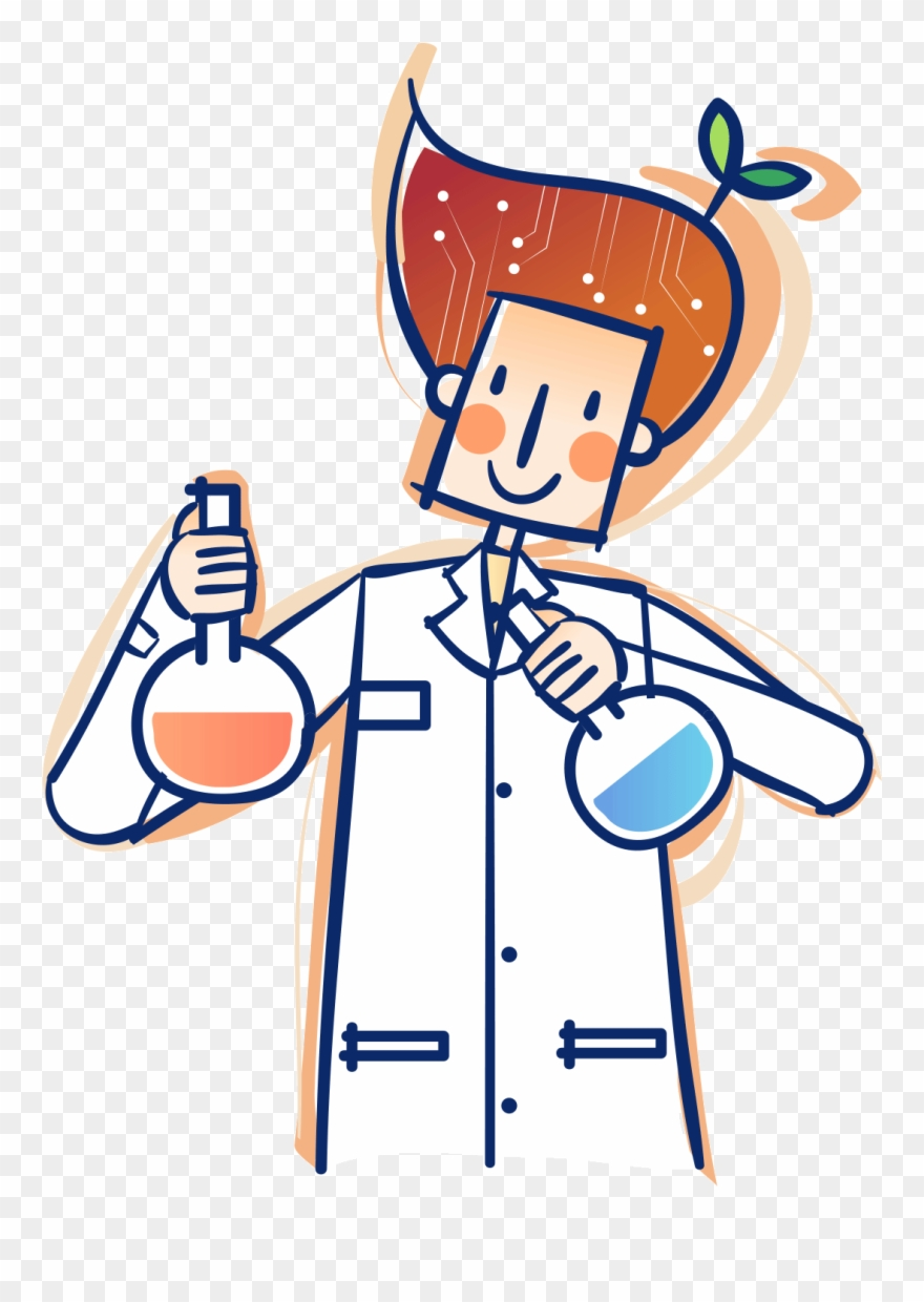 Lab clipart lab material. Research and development cartoon