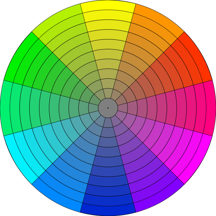 Wheel clipart hue. Chroma for gamut mapping