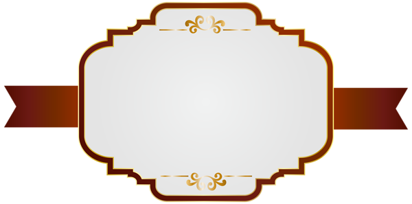 White red clip art. Label frame png