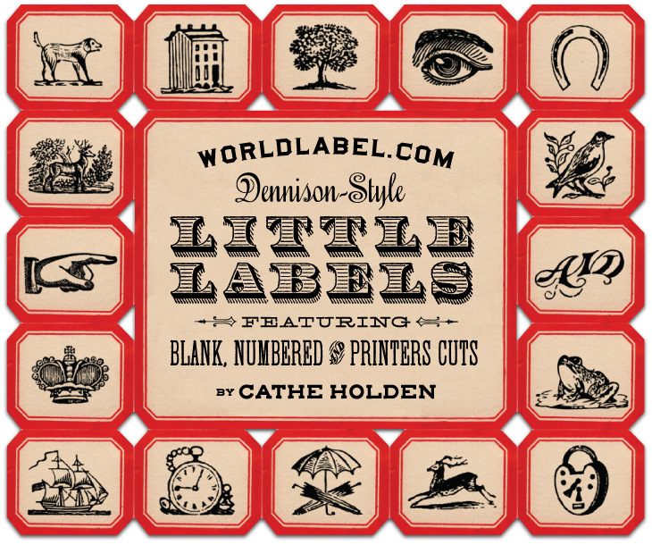 Label clipart apothecary. Vintage themed labels dennisonstyle