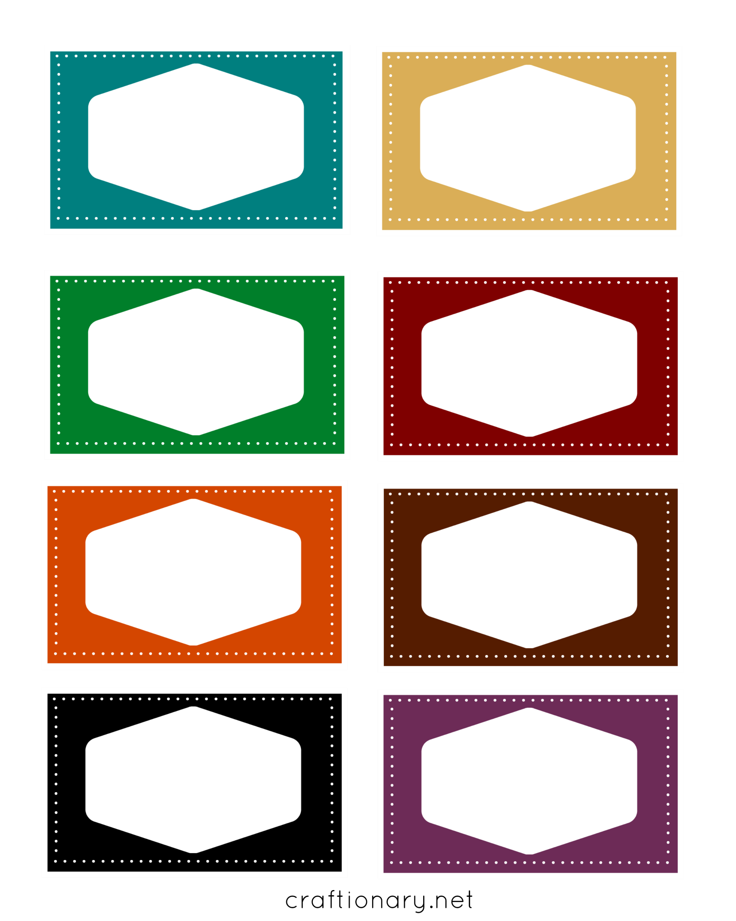 Craftionary colorful book printables. Label clipart burlap