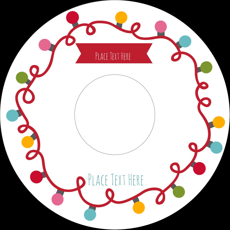 Christmas cd dvd labels. Label clipart chalkboard