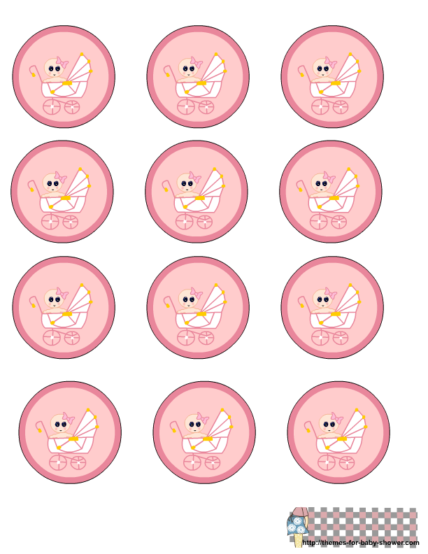 Label clipart cute. Free printable pink baby