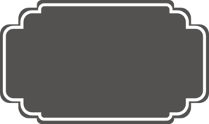 Label clipart grey banner. Wedding clip art at