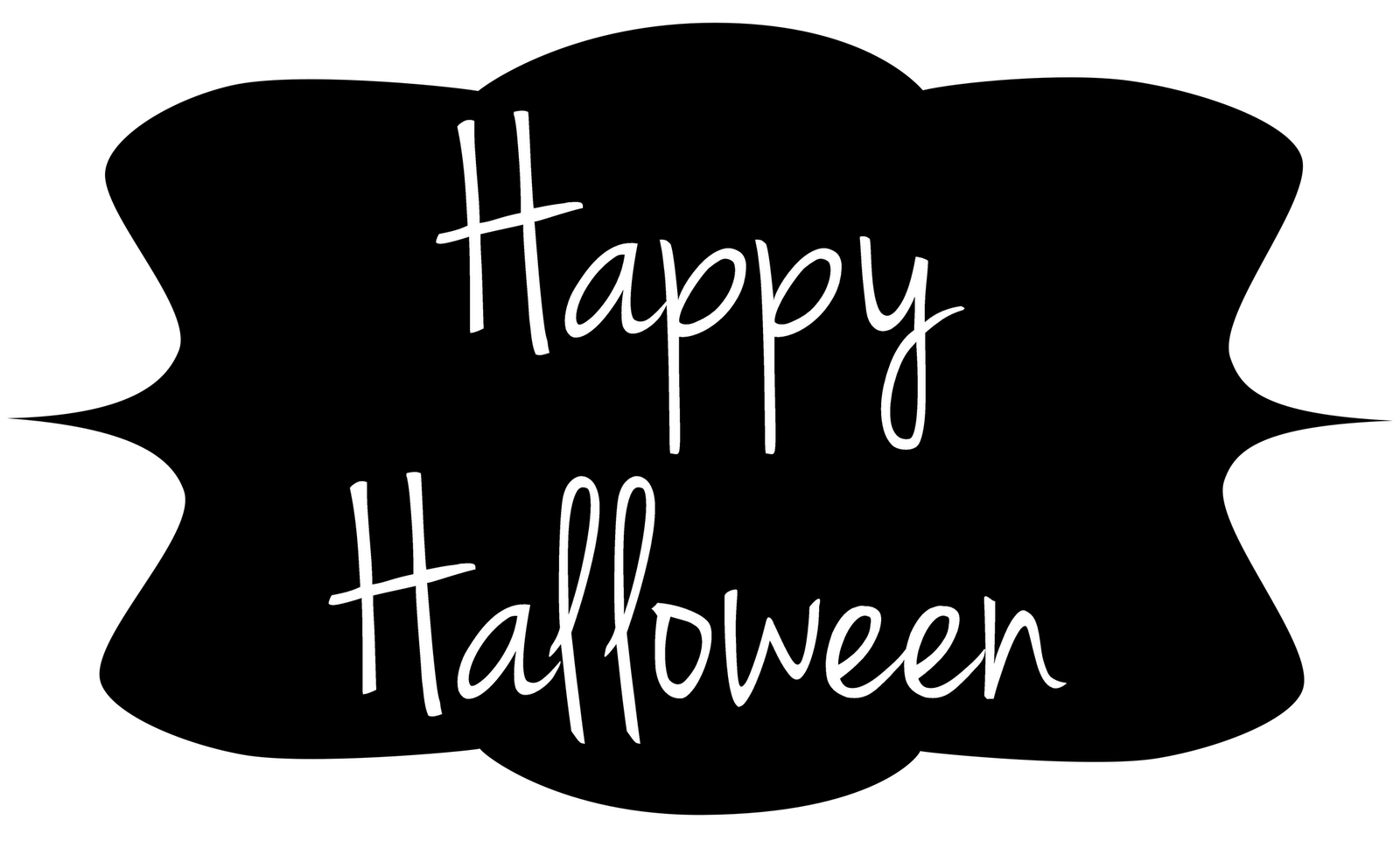 Happy frames tags clip. Label clipart halloween