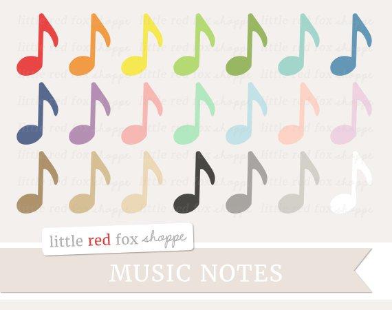 Notes symbol clip art. Label clipart music