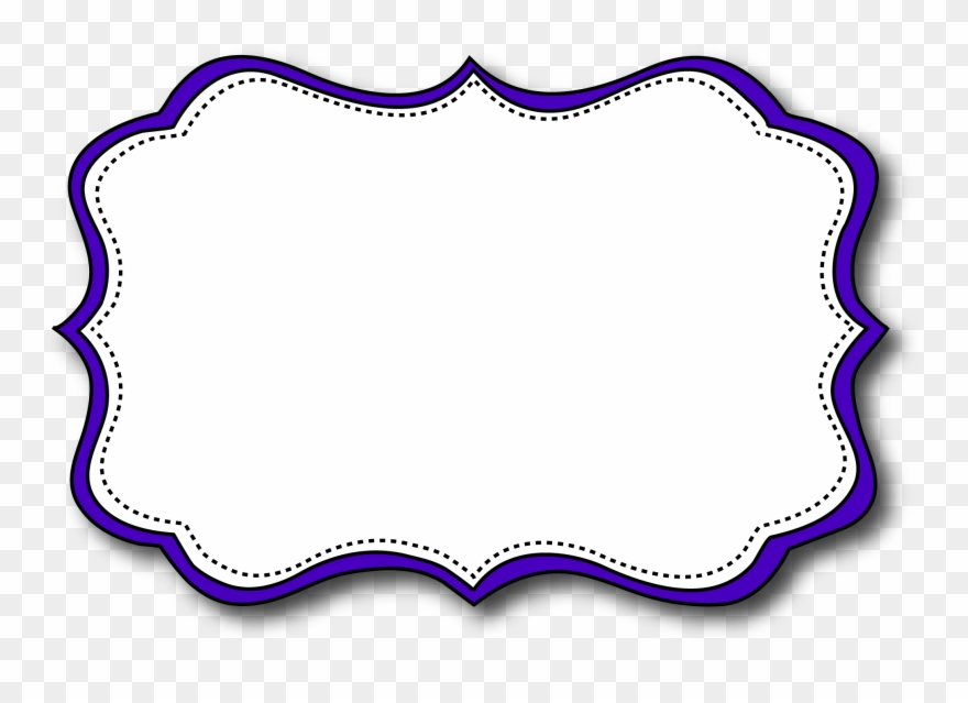 Borders and frames labels. Label clipart printable