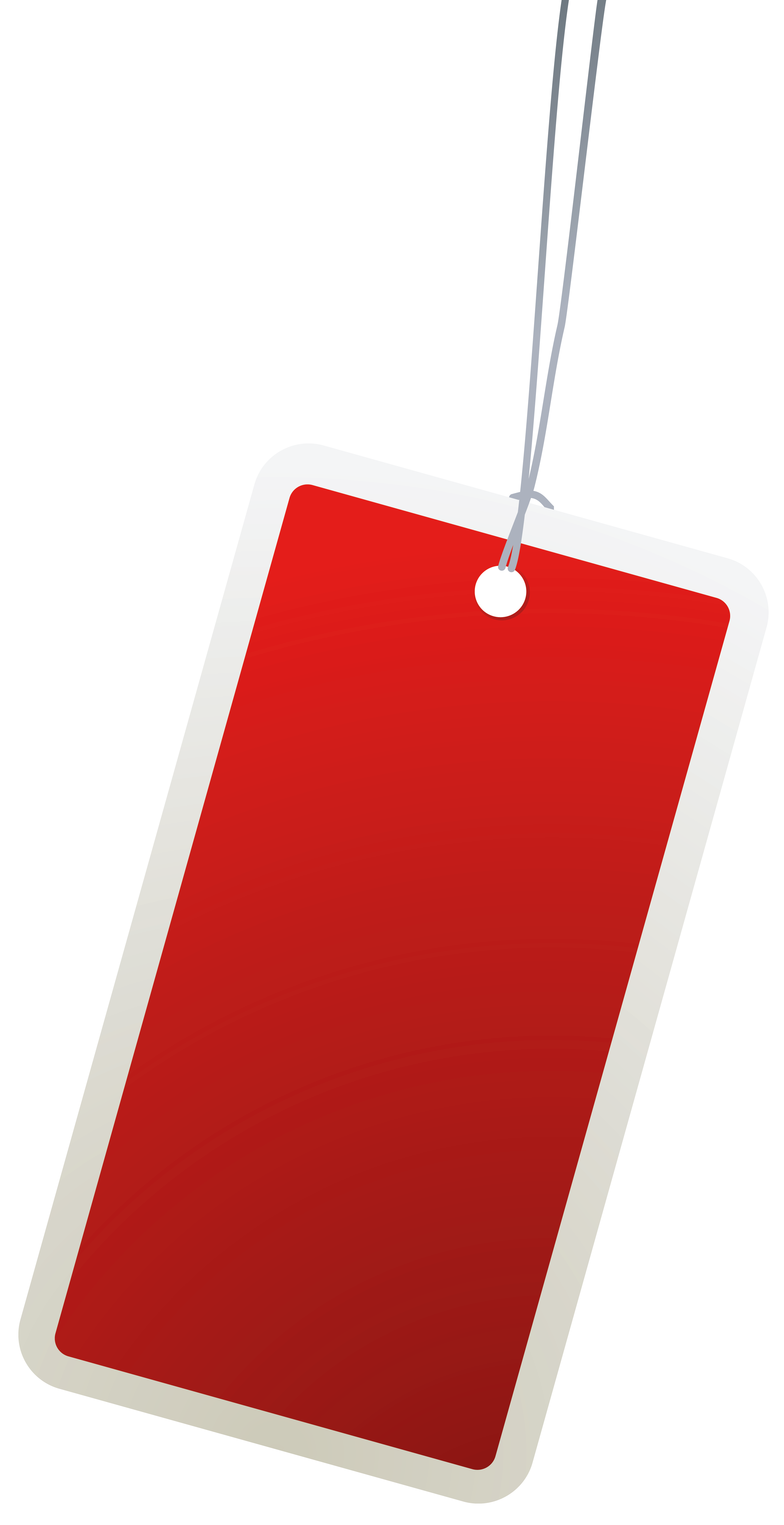 Paper clip art png. Label clipart red