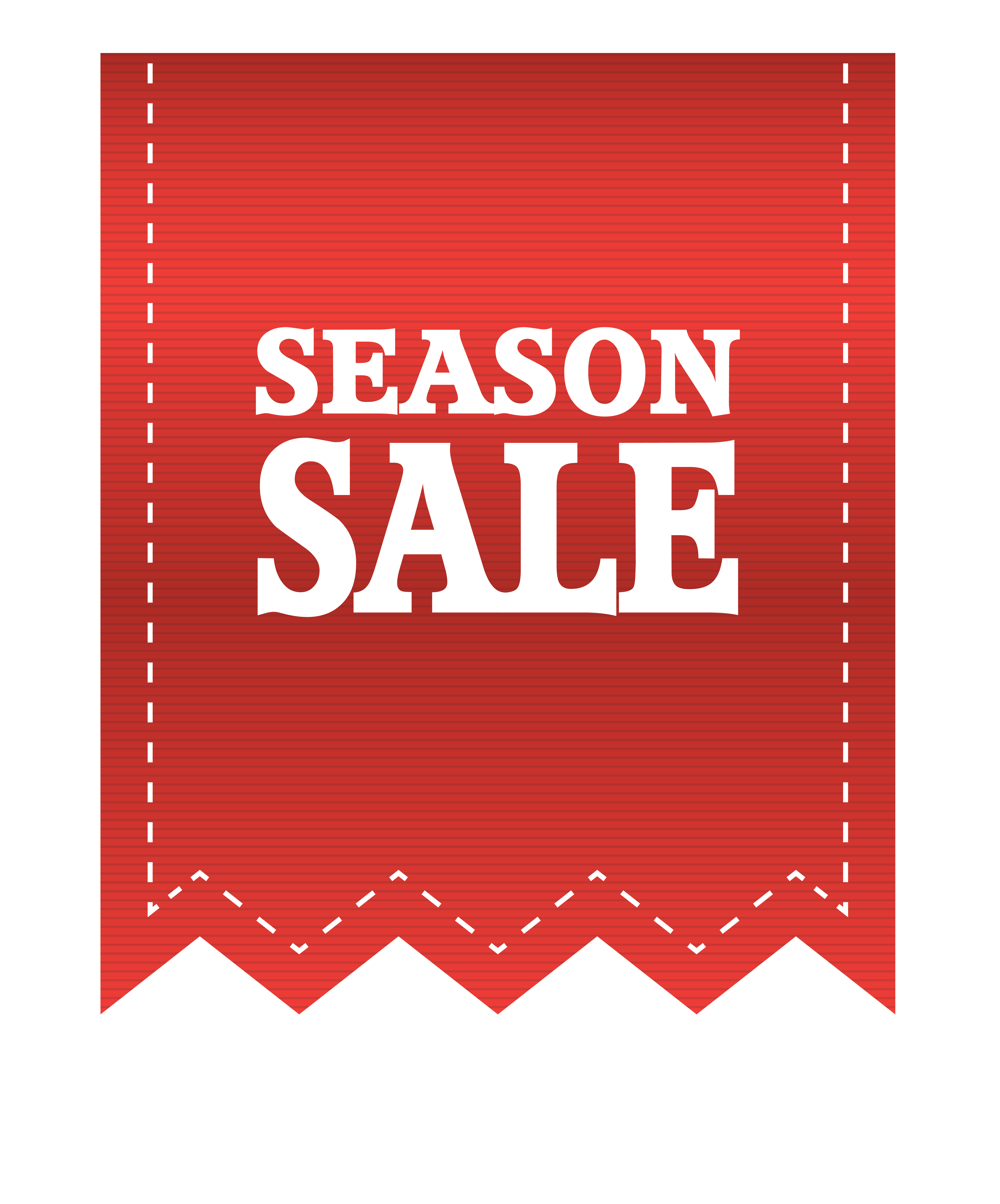 Label clipart red. Season sale png image