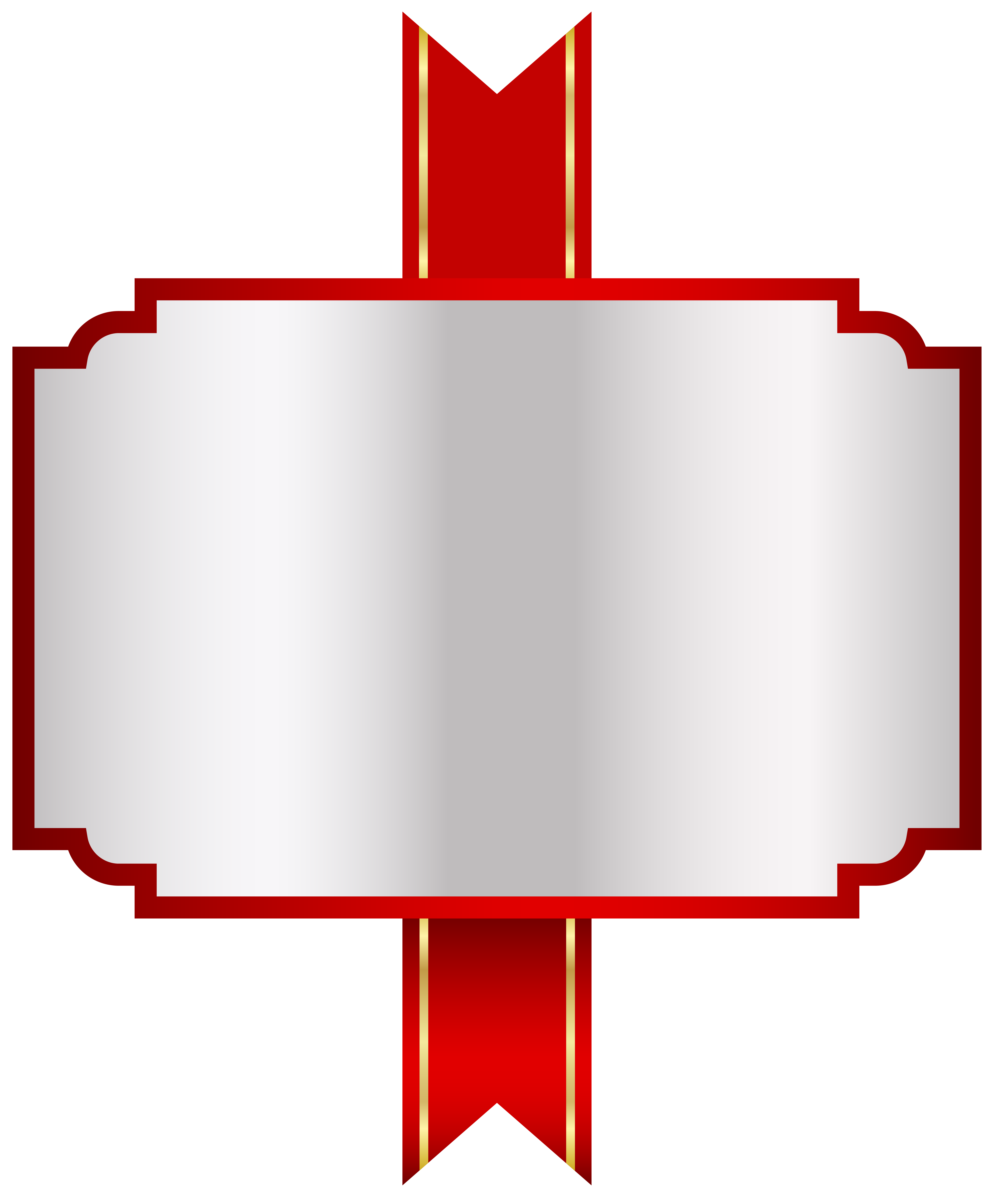 White png clip art. Label clipart red