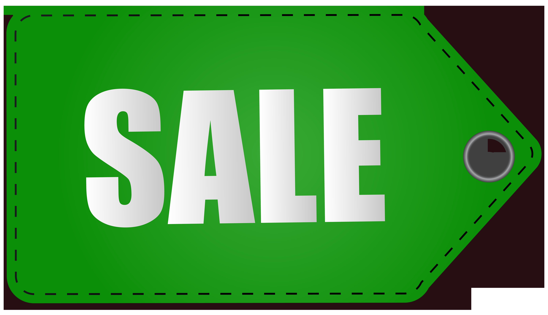 Label clipart scrapbook. Green sale tag transparent