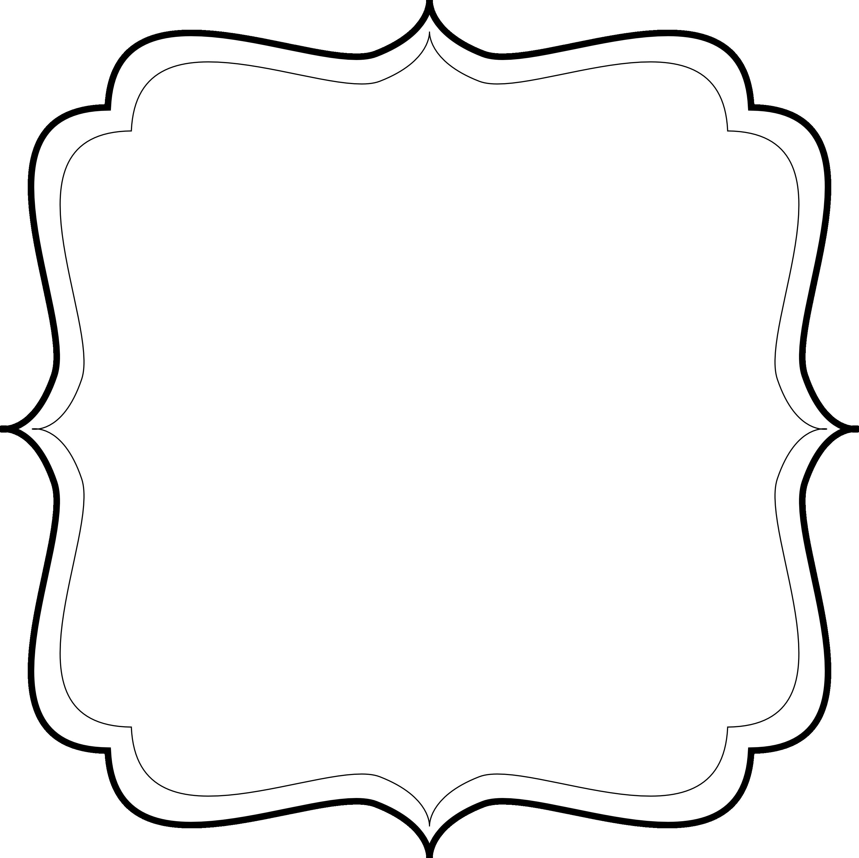 Blank label templates pattern. Vintage vector png