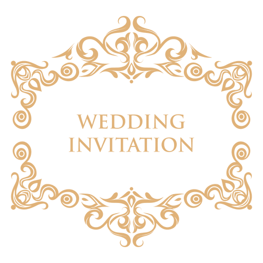 Download free png transparent. Label clipart wedding invitation