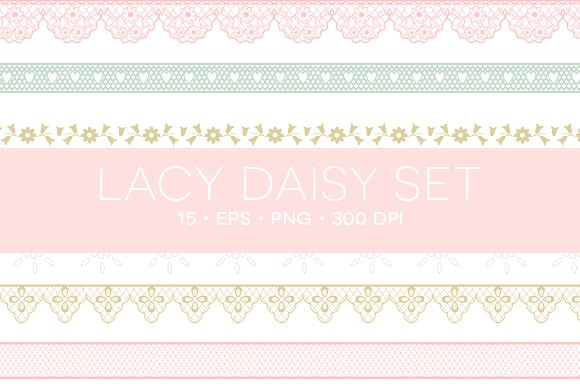eps png illustrations. Lace clipart