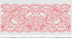 Free and vector graphics. Lace clipart