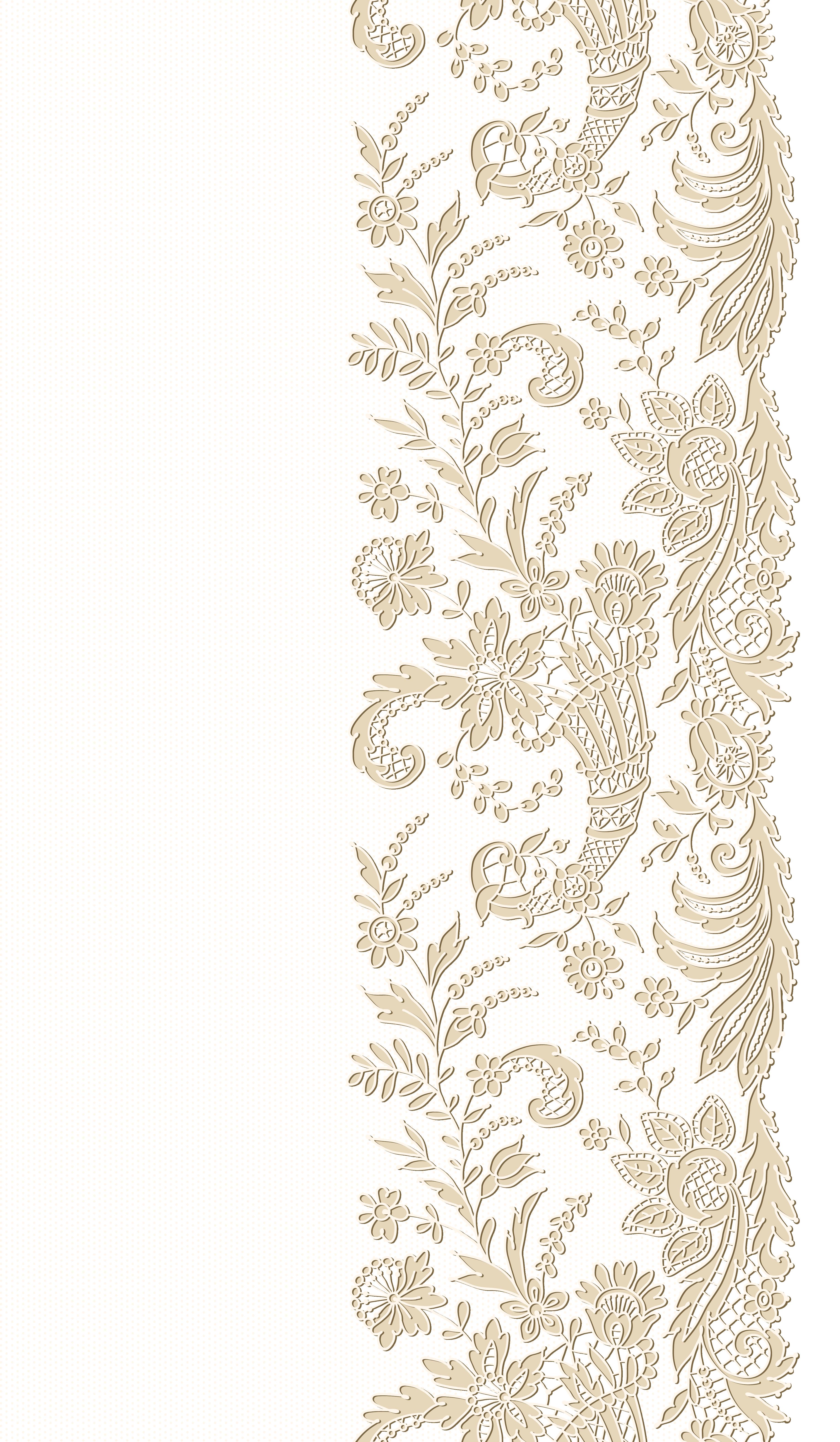 Transparent png clip art. Lace clipart brown lace