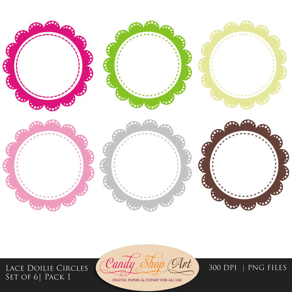 Free cliparts download clip. Lace clipart circle