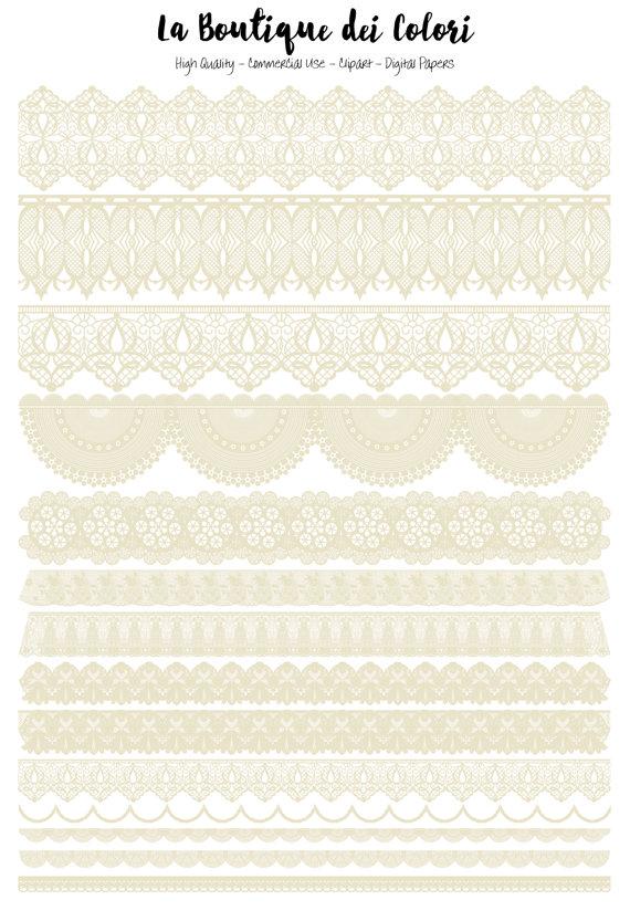 cute and ecru. Lace clipart cream lace