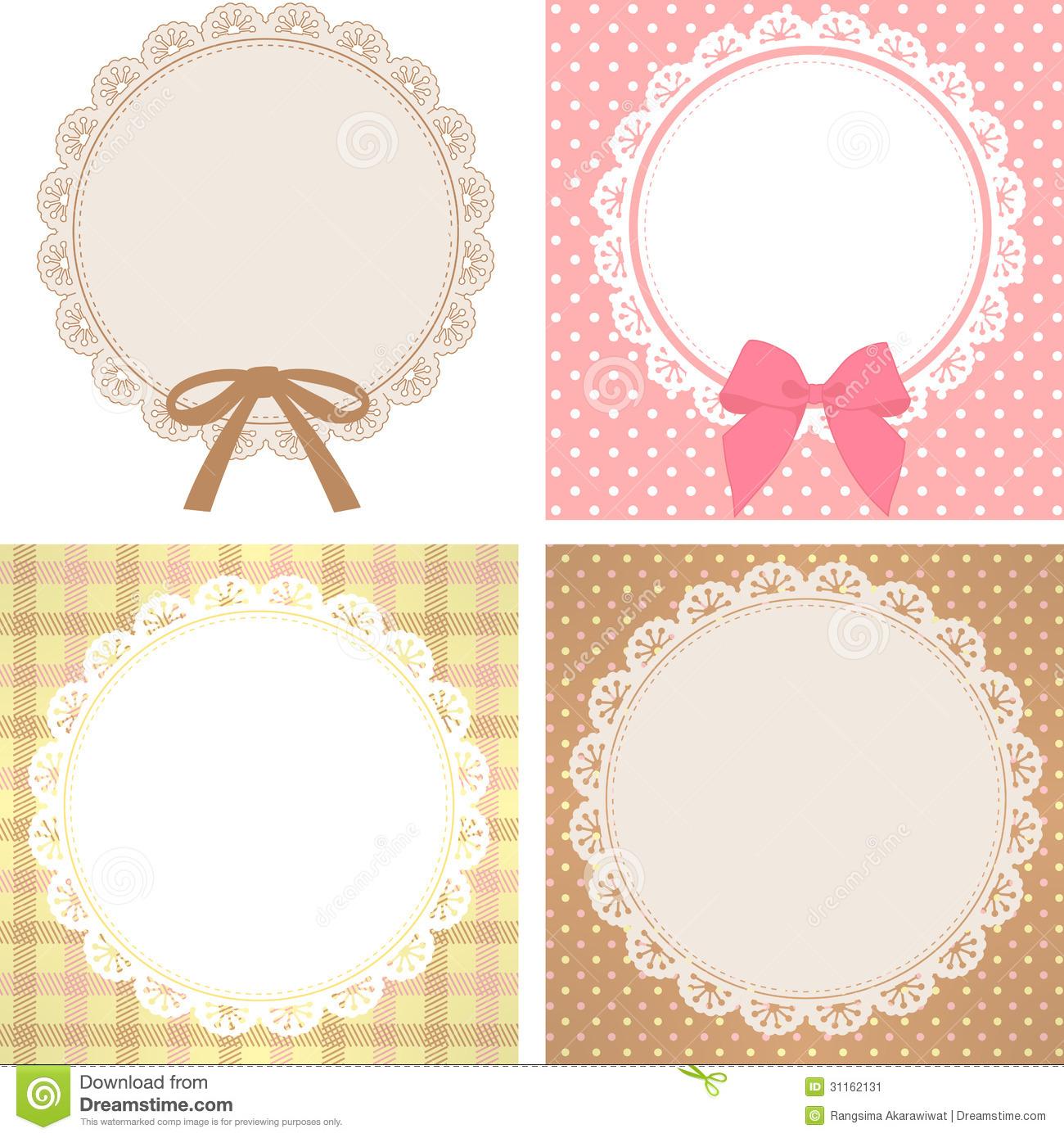 Free clip art images. Lace clipart cute